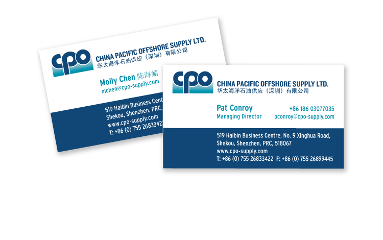 China Pacific Offshore Supply Ltd.